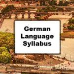 Indian Institute of Foreign Languages German Language Syllabus